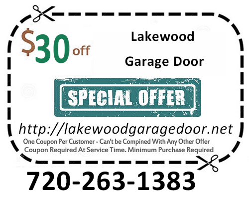Lakewood CO Garage Door Coupon